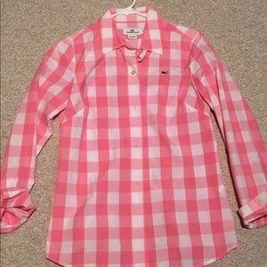 Vineyard Vines button down women's shirt